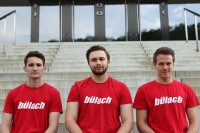 Fabio Decurtins, Nino Luise, Marco Hottinger (von links nach rechts).