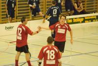 Urs Kilchenmann feiert seinen ersten Treffer für das NLB-Team.