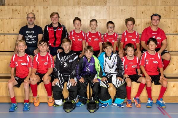 Junioren D rot - Saison 2018/2019